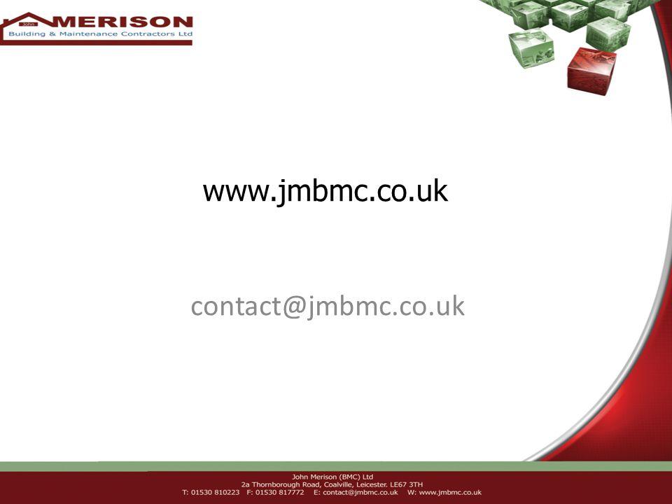 www.jmbmc.co.uk contact@jmbmc.co.uk