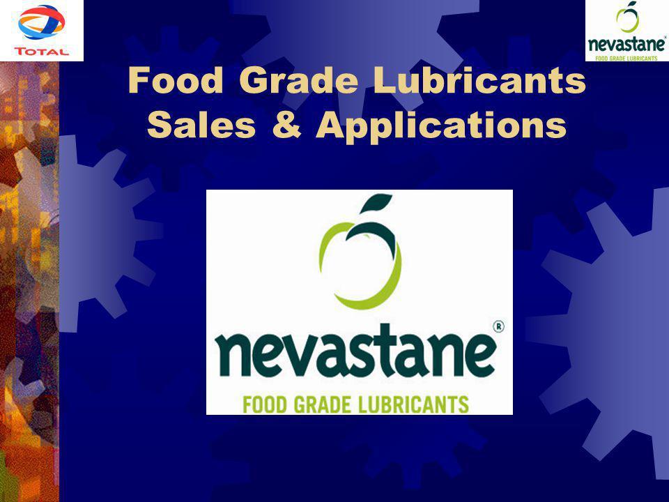 Food Grade Lubricants Sales & Applications