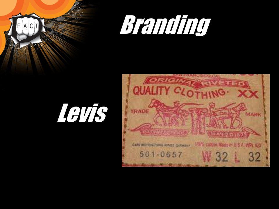 Branding Levis