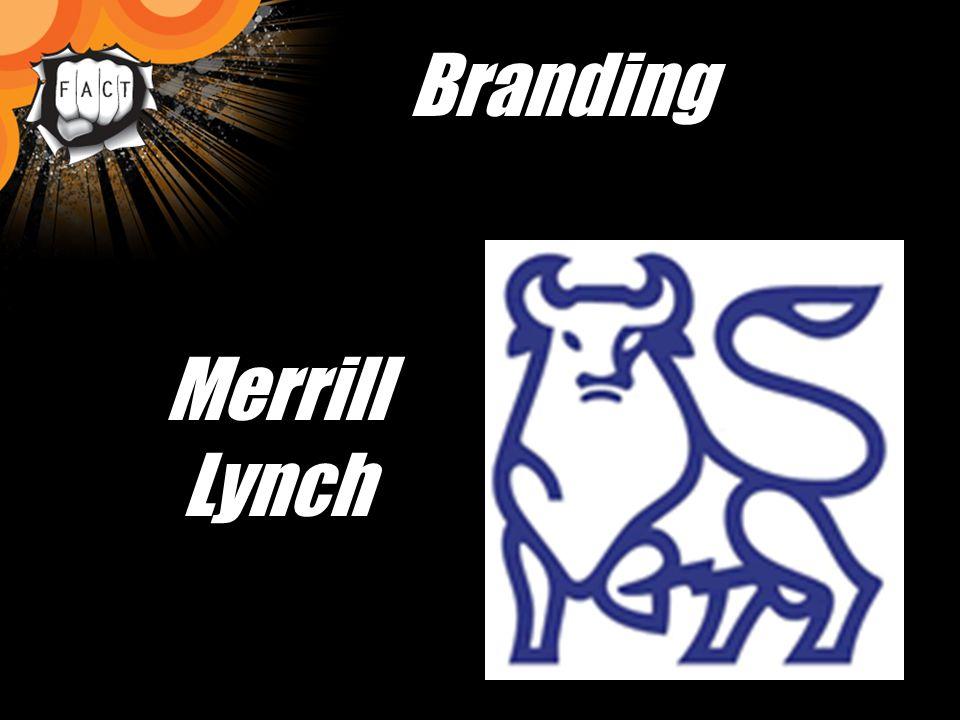 Branding Merrill Lynch