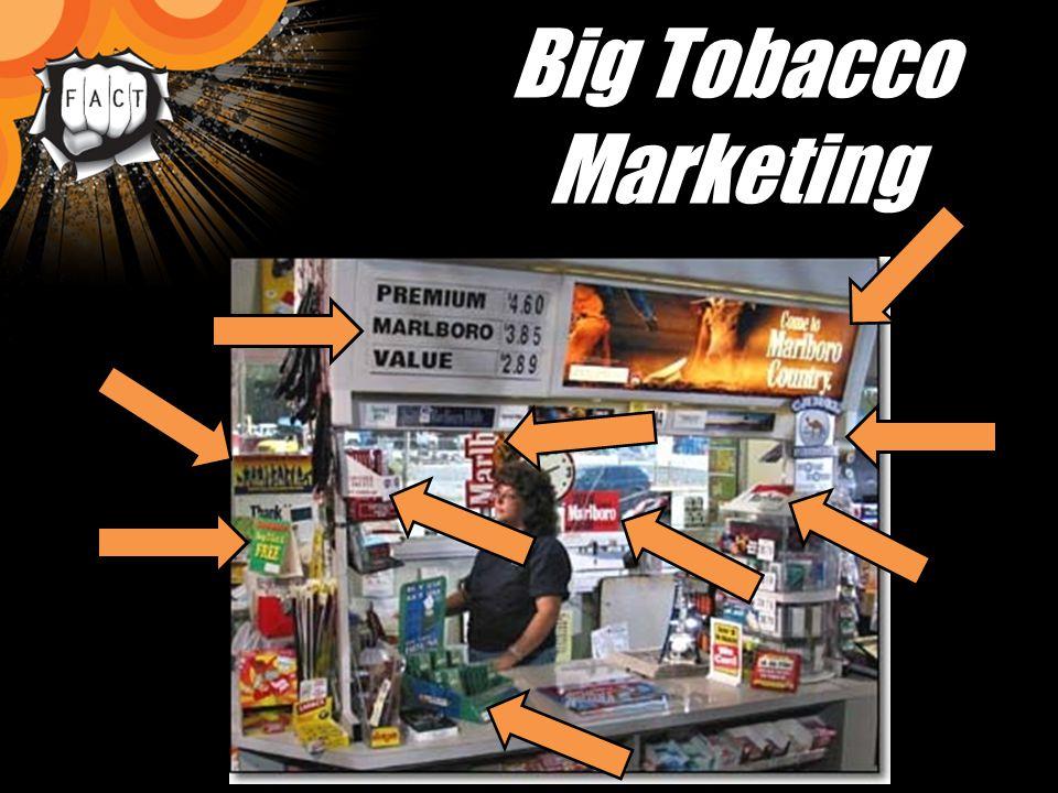 Big Tobacco Marketing