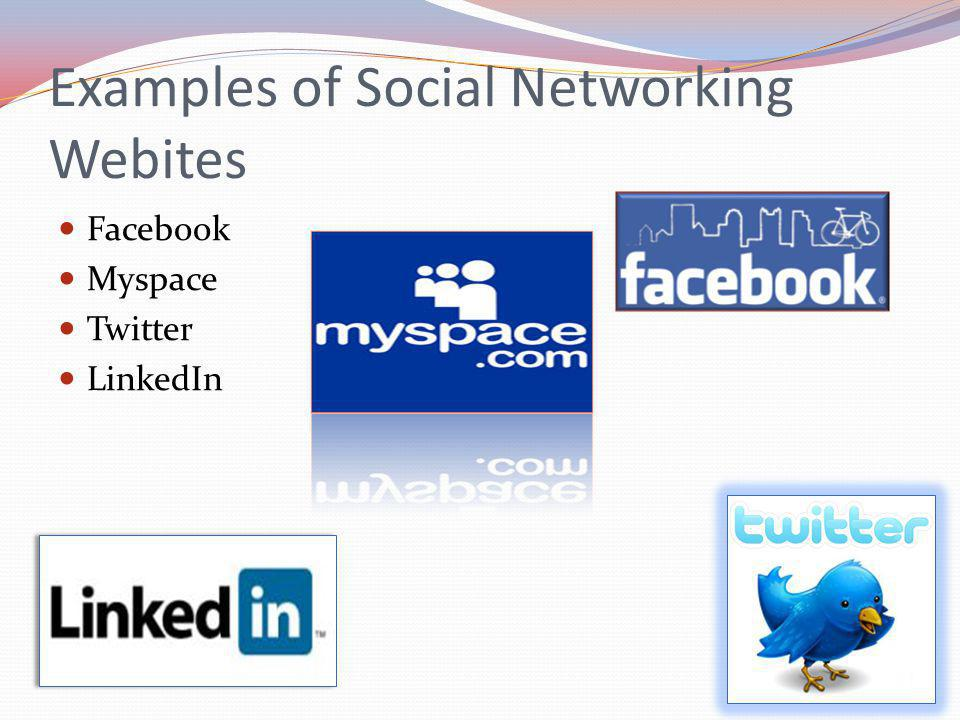 What is a Social Networking Website? Social networking websites function like an online community of internet users. Depending on the website in quest