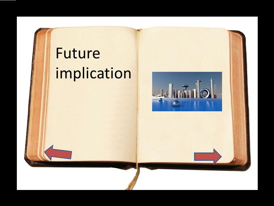 Future implication