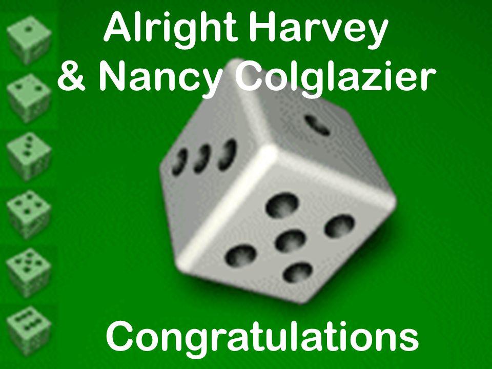 Alright Harvey & Nancy Colglazier Congratulations