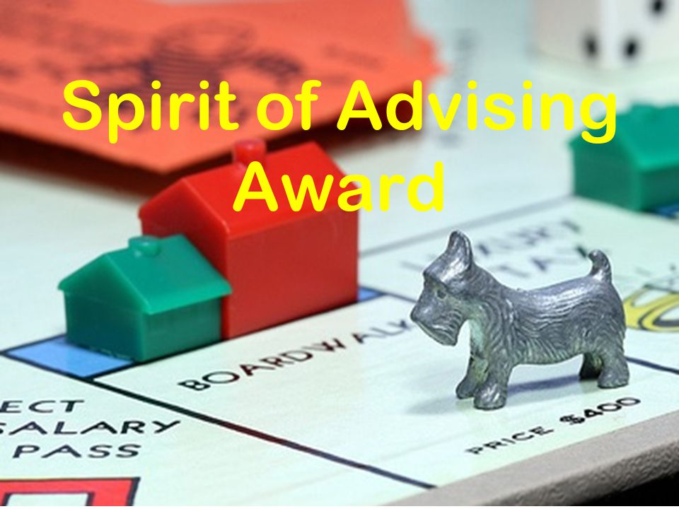Spirit of Advising Award