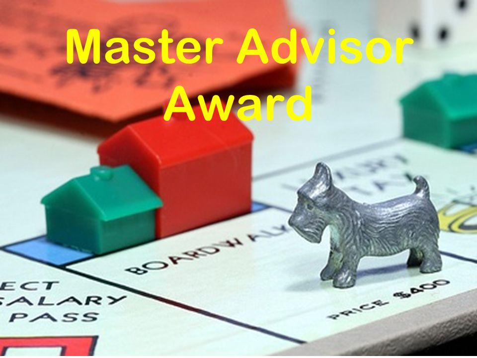 Master Advisor Award