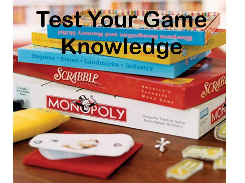 Test Your Game Knowledge