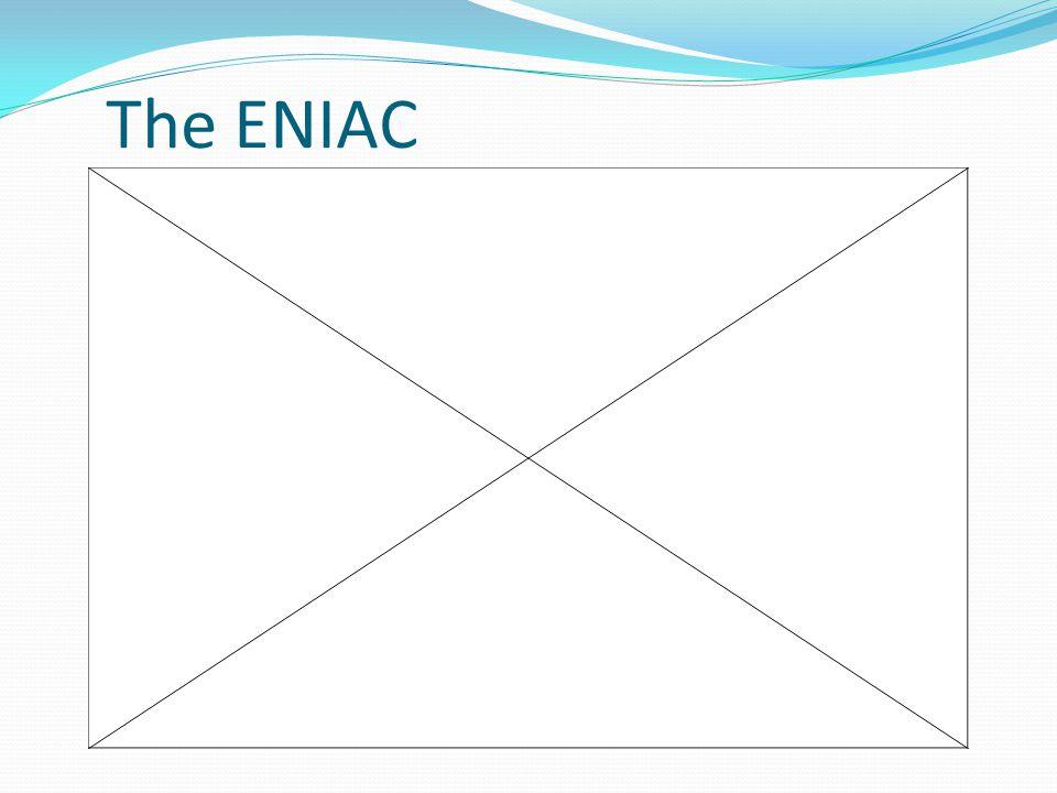 The ENIAC