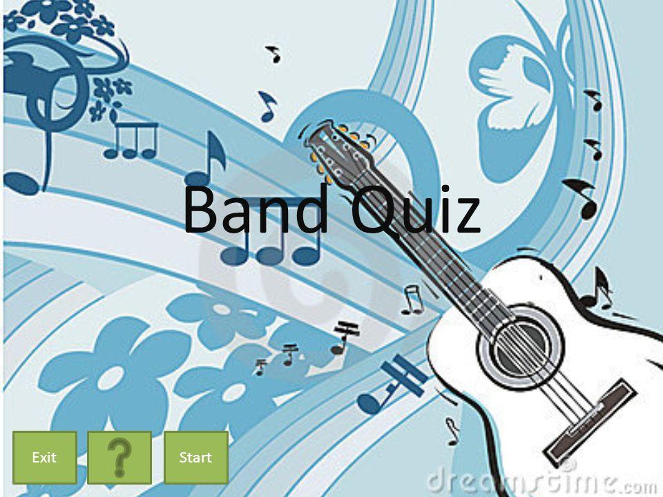 Band Quiz ExitStart