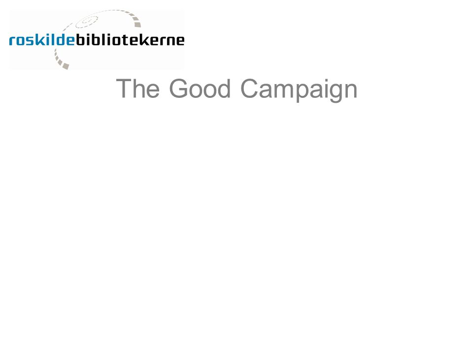 The Good Campaign