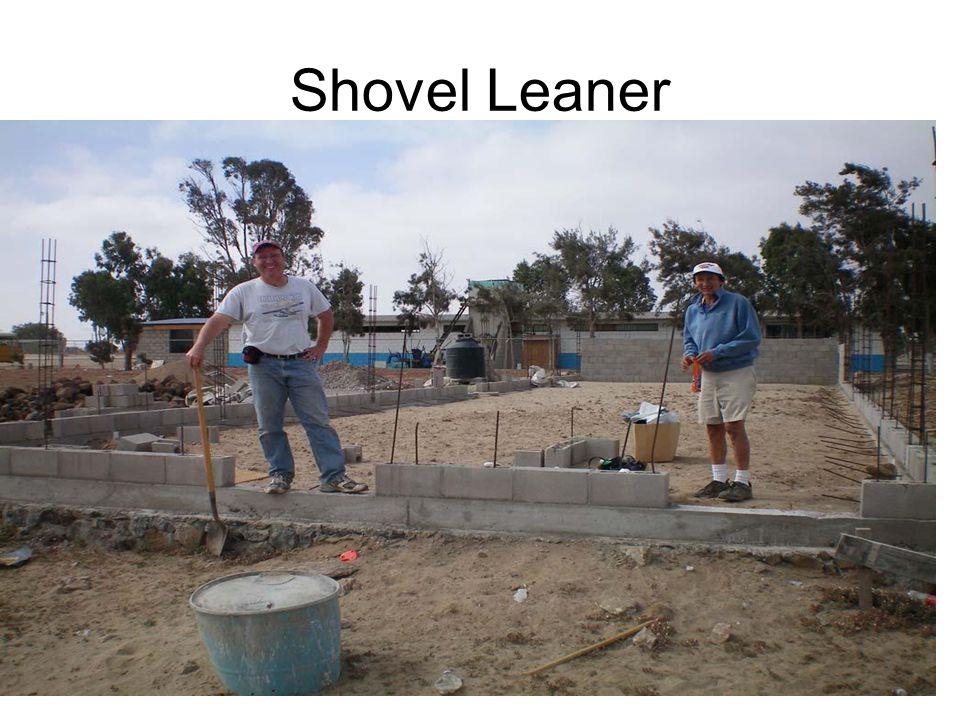Shovel Leaner