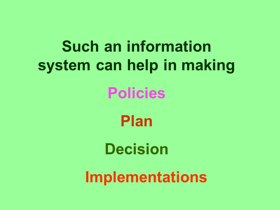 An advanced, integrated, planned, organized Data management Information processing Dissemination system For Implementing environmentally sound and sus