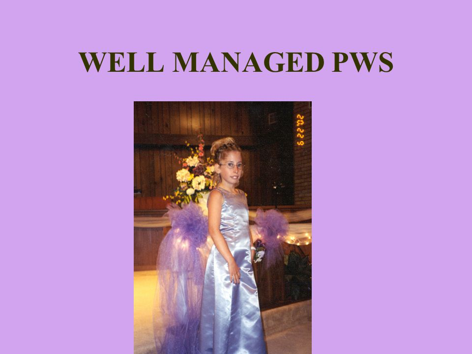 WELL MANAGED PWS