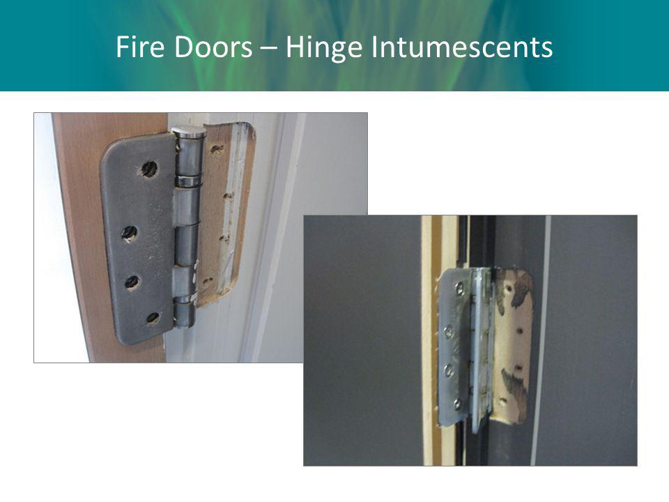 Fire Doors – Hinge Intumescents