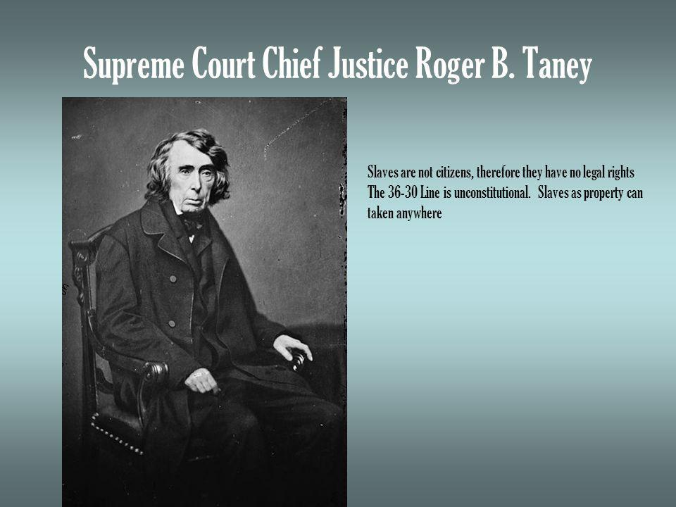 Supreme Court Chief Justice Roger B.