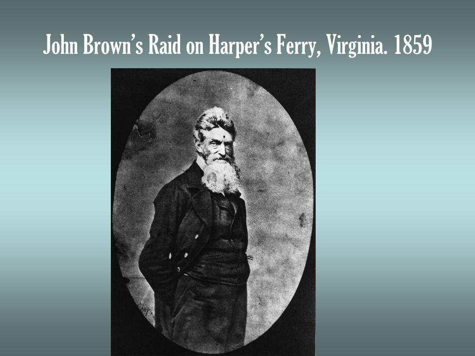John Browns Raid on Harpers Ferry, Virginia. 1859