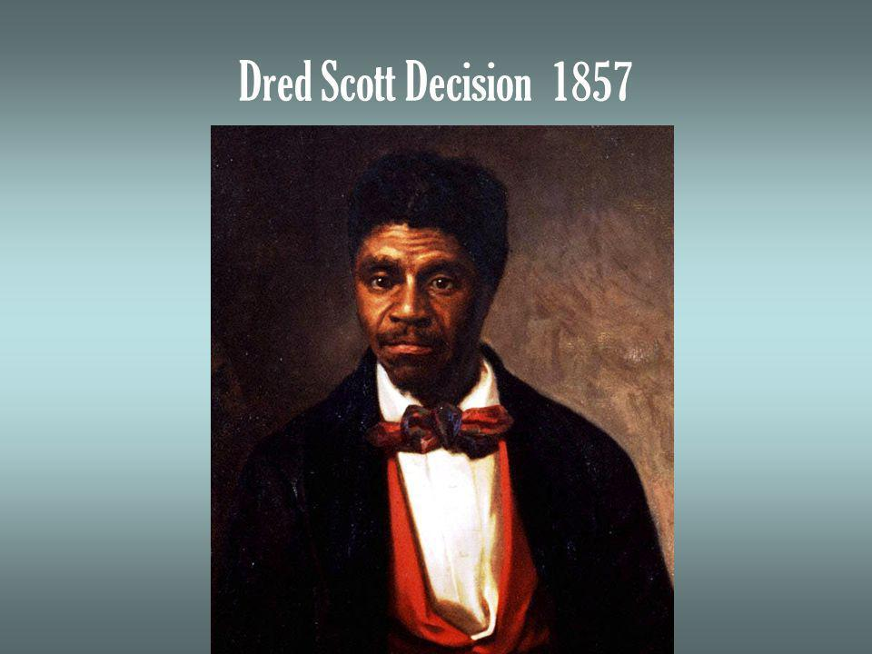Dred Scott Decision 1857