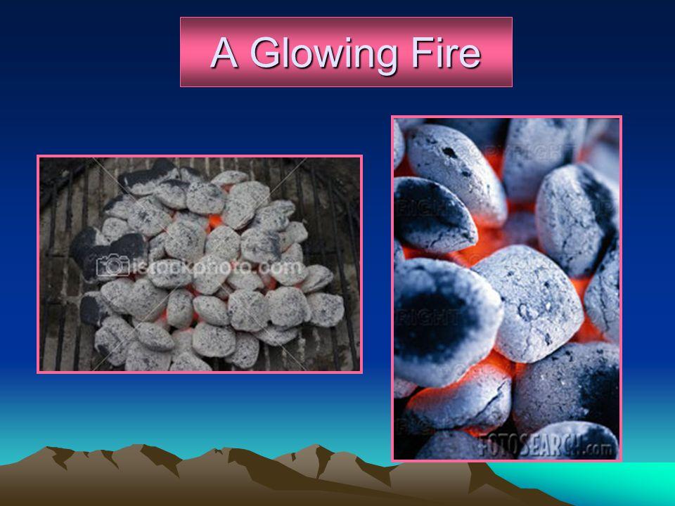 A Glowing Fire