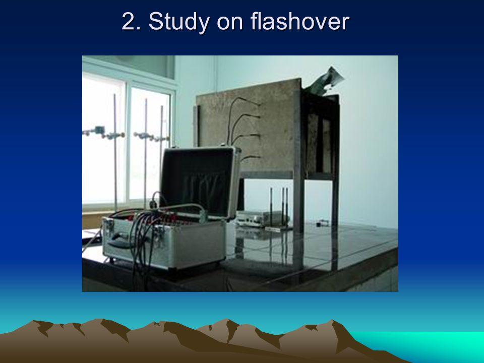 2. Study on flashover