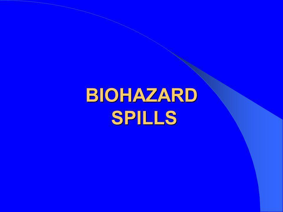 BIOHAZARD SPILLS