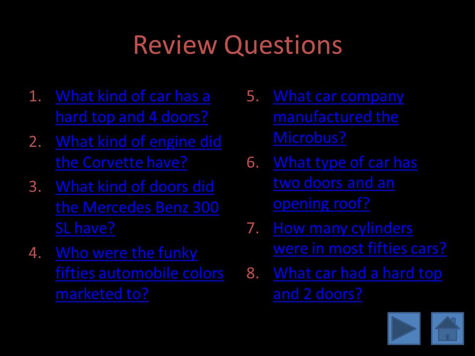 Review Questions Continued 11.