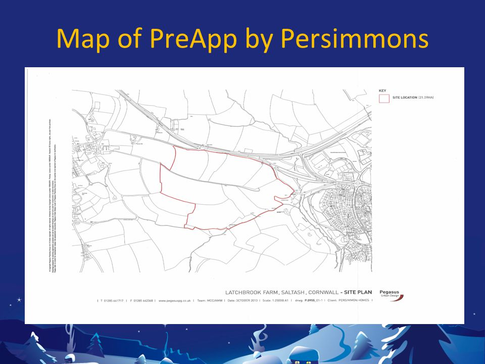 Map of PreApp by Persimmons