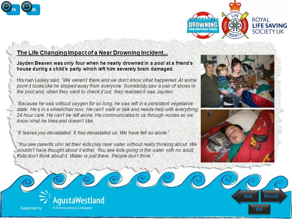 The Life Changing Impact of a Near Drowning Incident...