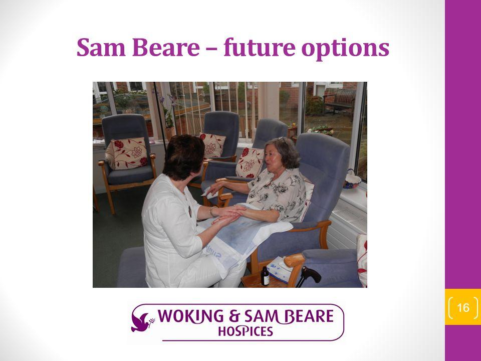 Sam Beare – future options 16