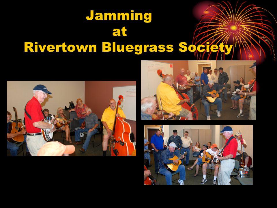 Jamming at Rivertown Bluegrass Society