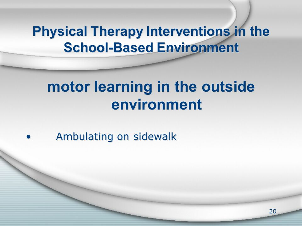 Physical Therapy Interventions in the School-Based Environment manual therapy Hands-on techniques for joint and soft tissue mobilization manual therap