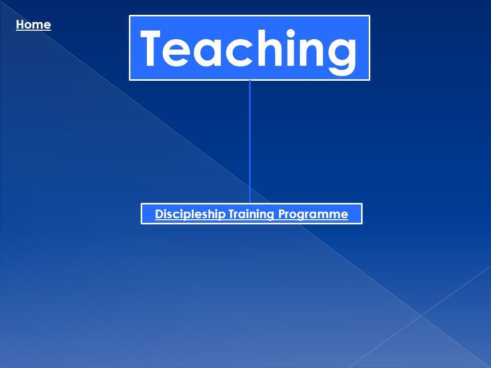 Teaching Home Discipleship Training Programme
