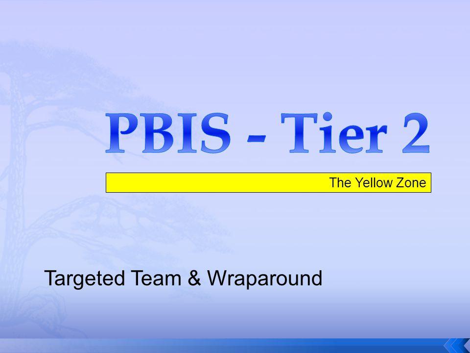 The Yellow Zone Targeted Team & Wraparound
