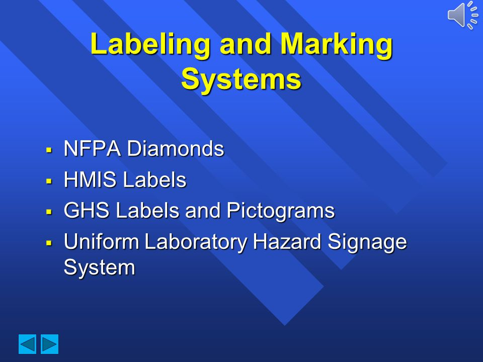 Durham Technical Community College Hazard Communication Labeling and Marking Systems
