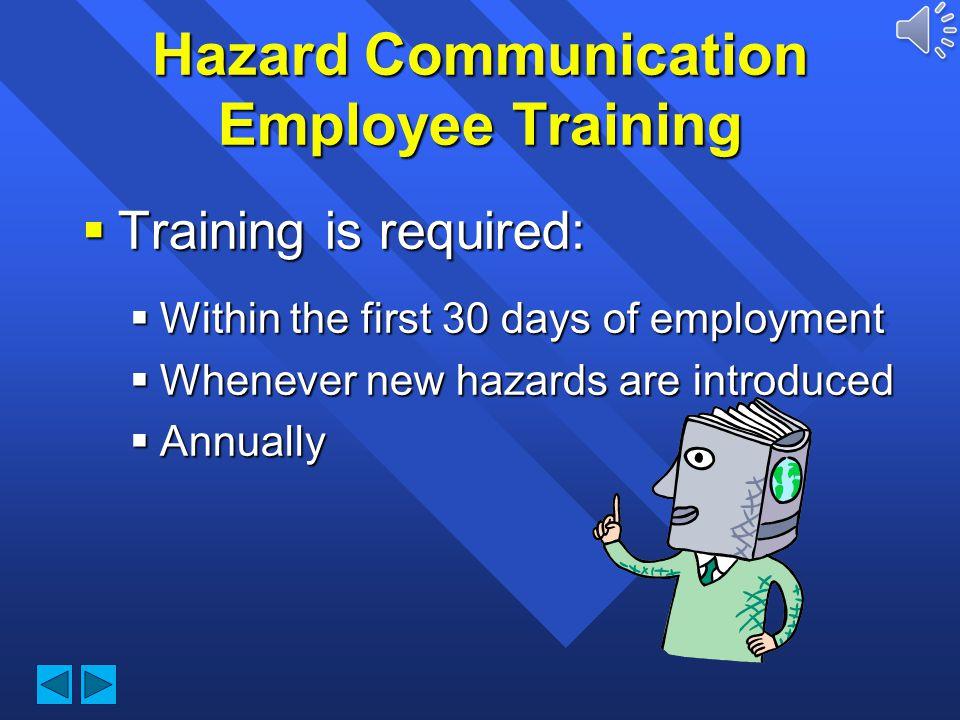 Durham Technical Community College Hazard Communication Employee Training