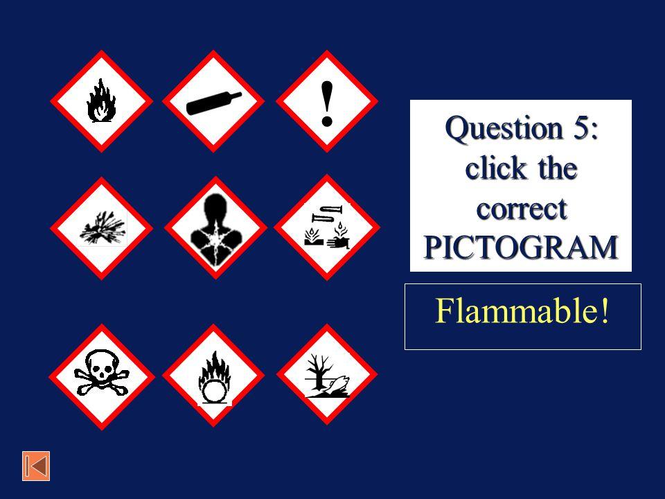Poison! Next Question 4: CORRECT!