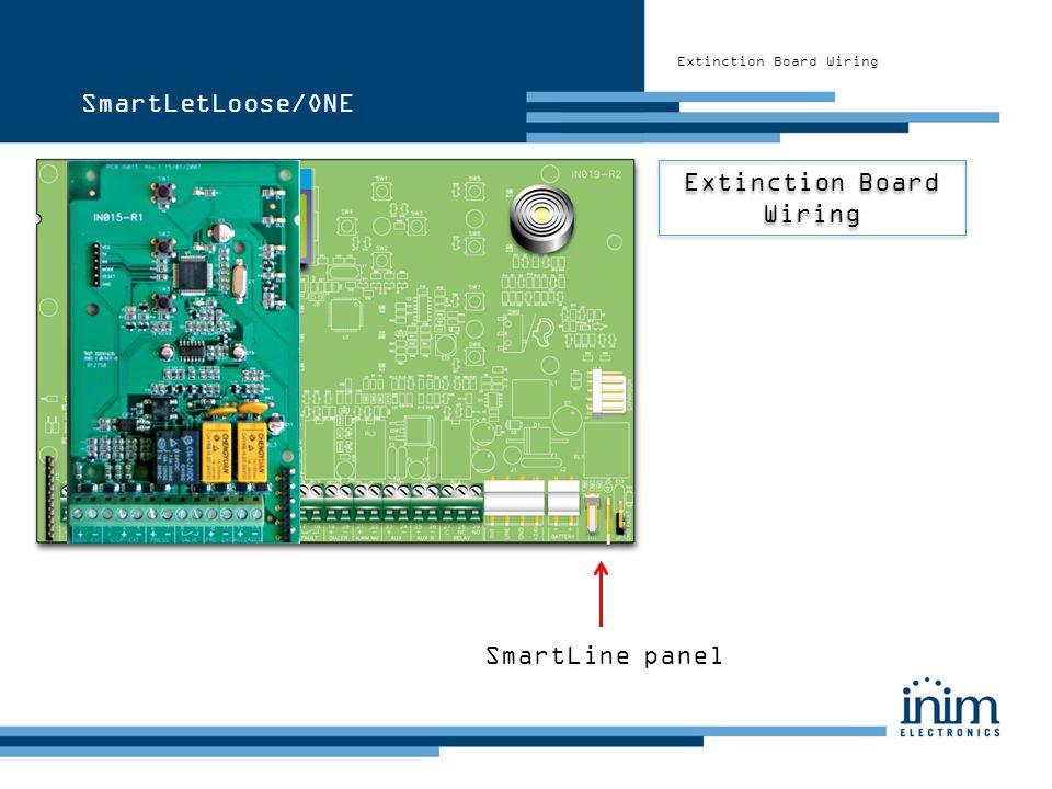 SmartLetLoose/ONE Extinction Board Wiring SmartLine panel