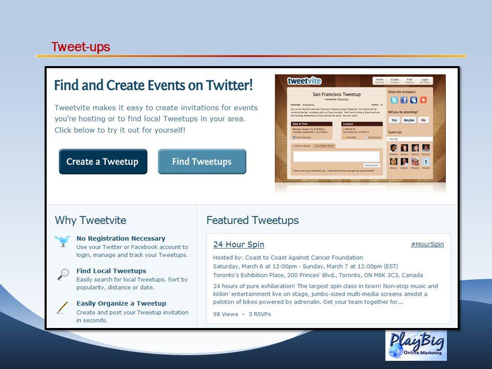 Tweet-ups