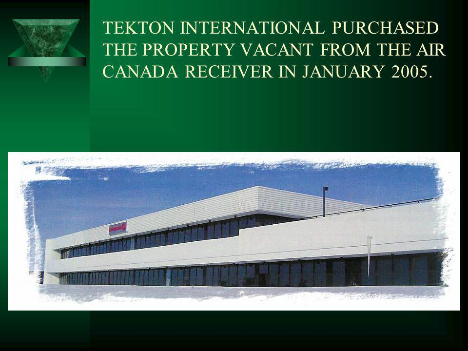 TEKTON INTERNATIONAL INC. ADT DEVELOPMENT PROJECT PRESENTS: