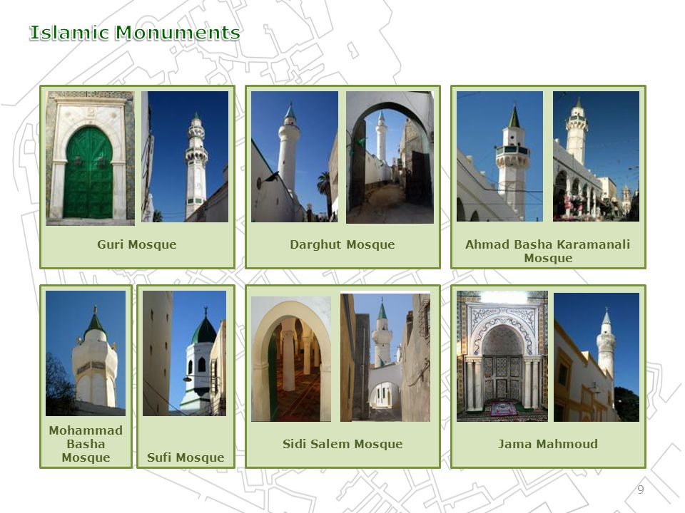 40 1985 Peoples Committee for The Organization and Administration of the Old City of Tripoli (OAOCT) Objectives: - Restoration of archeological monuments and other buildings in Medina - Modernizing its infrastructure.