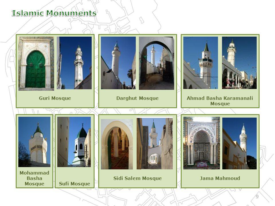 Sidi Salem MosqueJama Mahmoud Guri MosqueDarghut MosqueAhmad Basha Karamanali Mosque 9 Mohammad Basha MosqueSufi Mosque