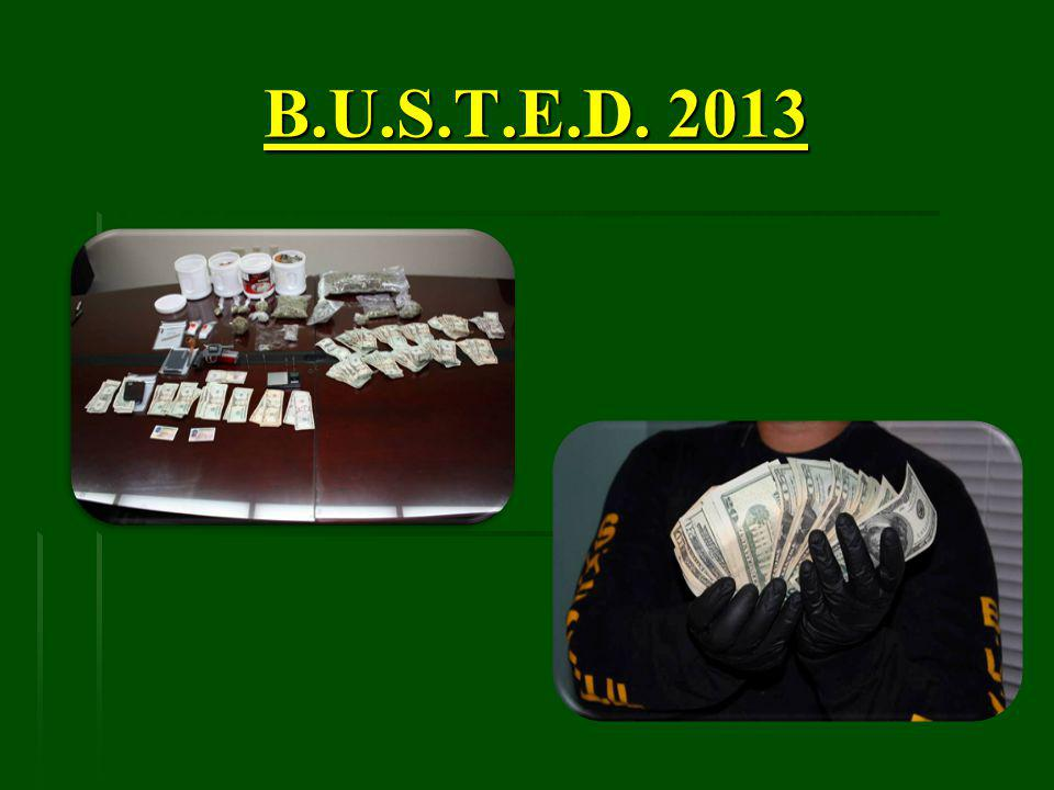 B.U.S.T.E.D. 2013