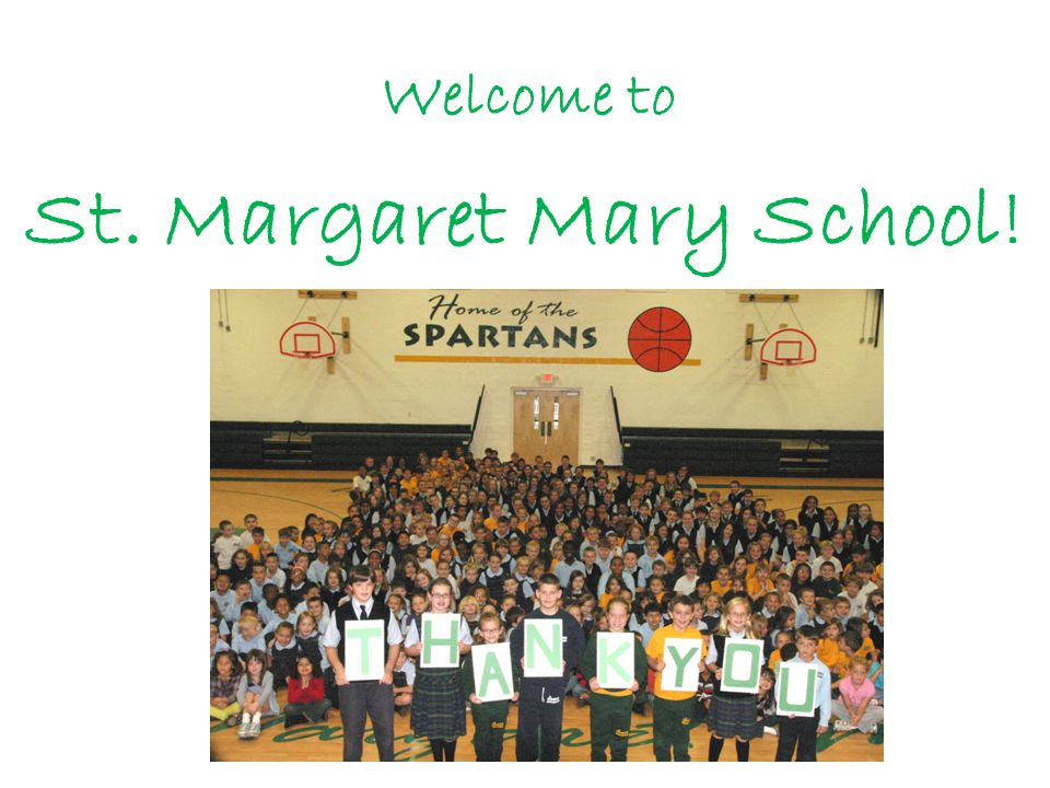 Welcome to St. Margaret Mary School!