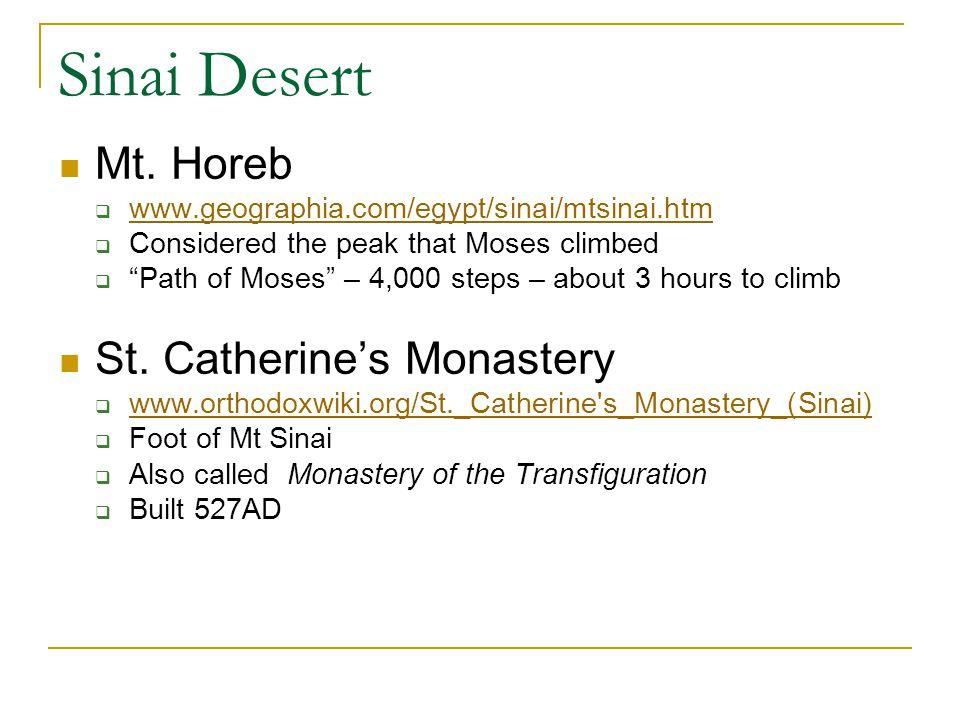 Sinai Desert Mt.