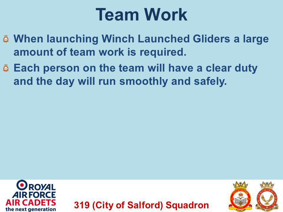 319 (City of Salford) Squadron Look Ahead In the next lessons we will look at: Map Reading Initial Expedition Training