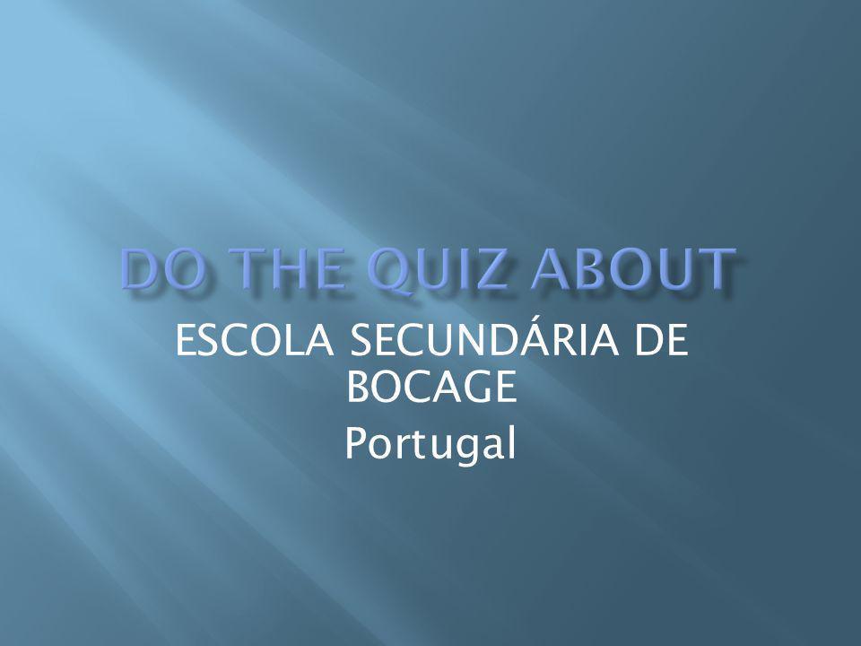 ESCOLA SECUNDÁRIA DE BOCAGE Portugal