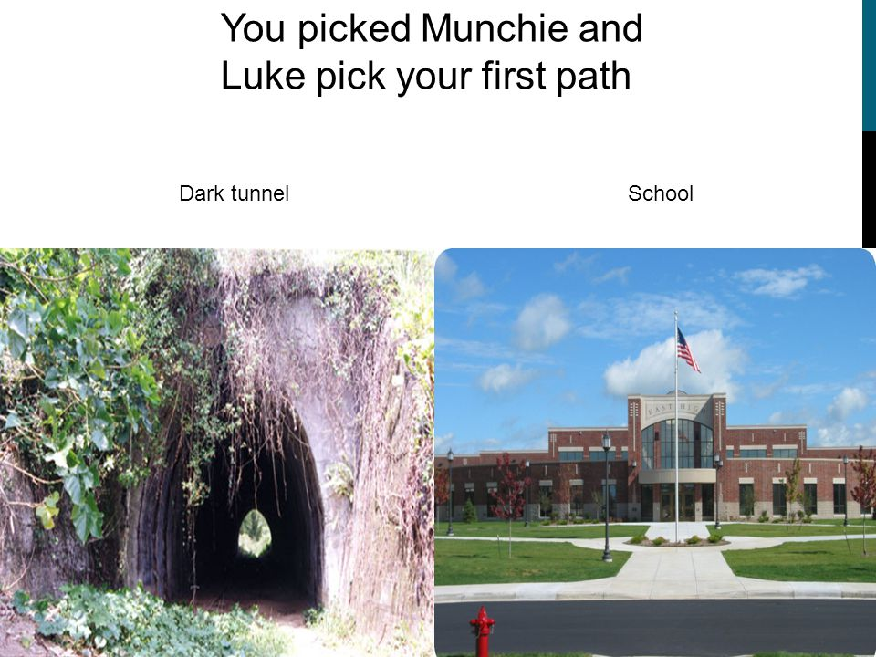 BEAR MUNCHIE and Luke PICK YOUR CHARACTER Click the picture