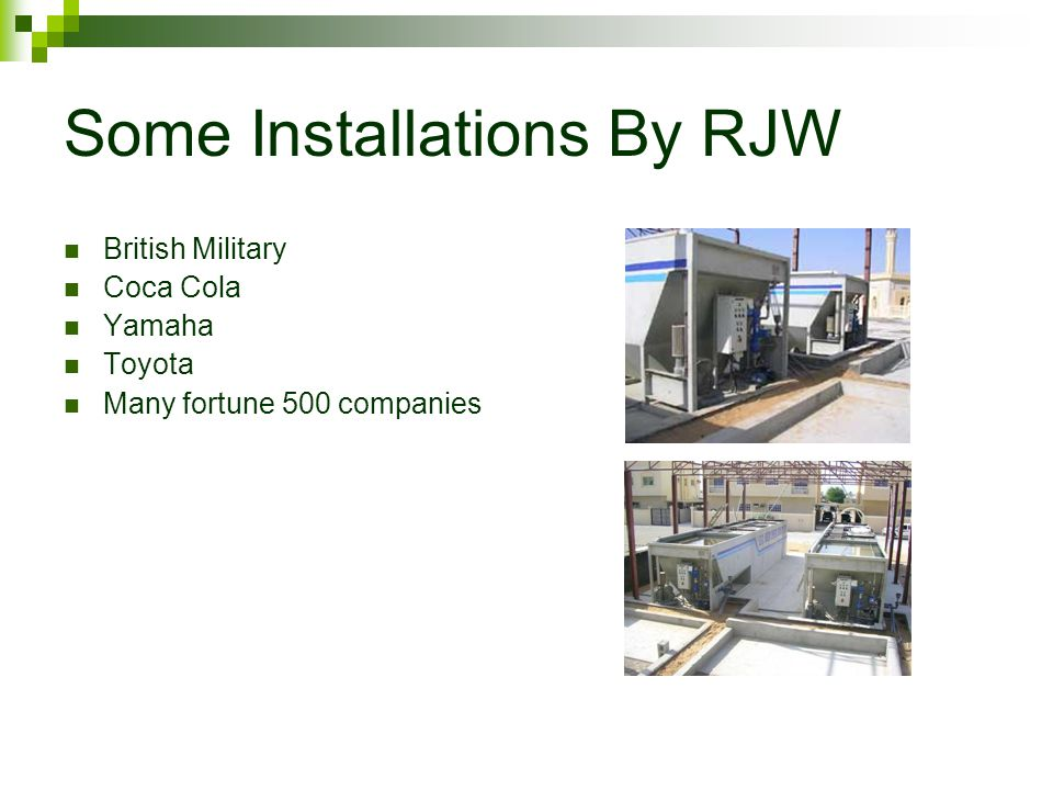 Some Installations By RJW British Military Coca Cola Yamaha Toyota Many fortune 500 companies