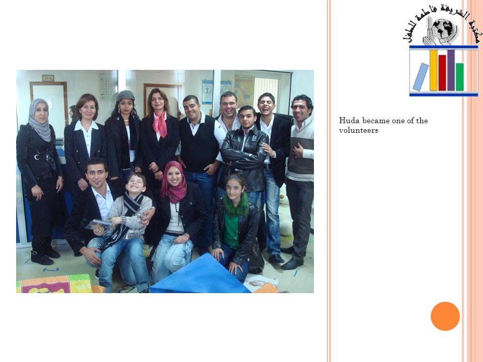 Huda said Thank you to the Princess Nisreen El- Hashemite