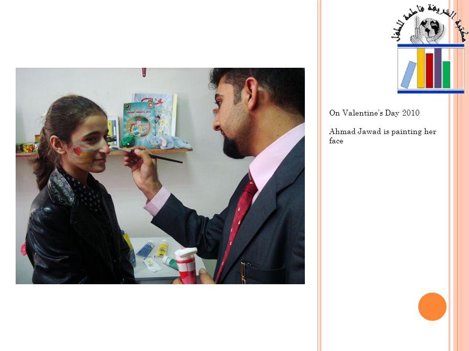 Huda became one of the volunteers