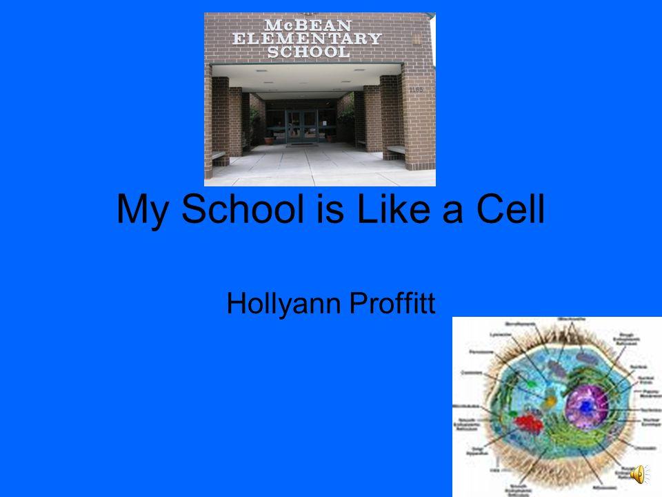 My School is Like a Cell Hollyann Proffitt